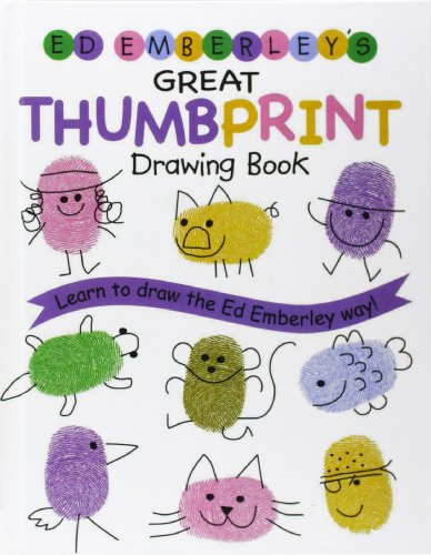 9780756958954: Ed Emberley's Great Thumbprint Drawing Book