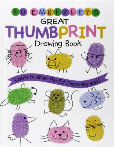 9780756958954: Ed Emberley's Great Thumbprint Drawing Book