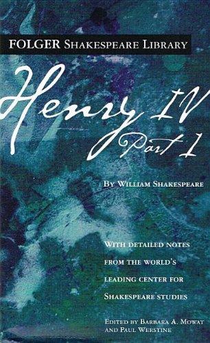 9780756963477: Henry IV, Part I (Folger Shakespeare Library)