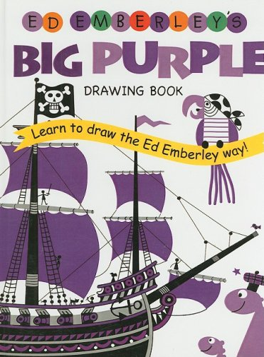 9780756965167: Ed Emberley's Big Purple Drawing Book (Ed Emberley Drawing Books)