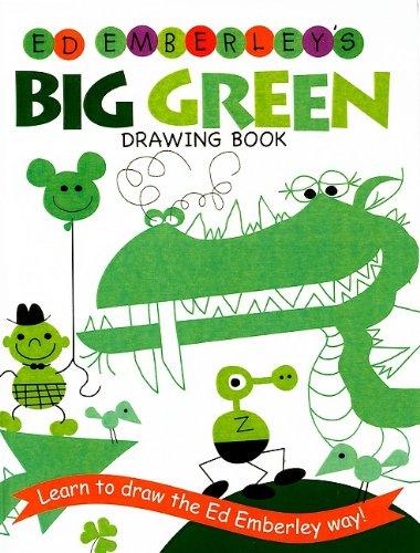 9780756965198: Ed Emberley's Big Green Drawing Book (Ed Emberley Drawing Books (Prebound))