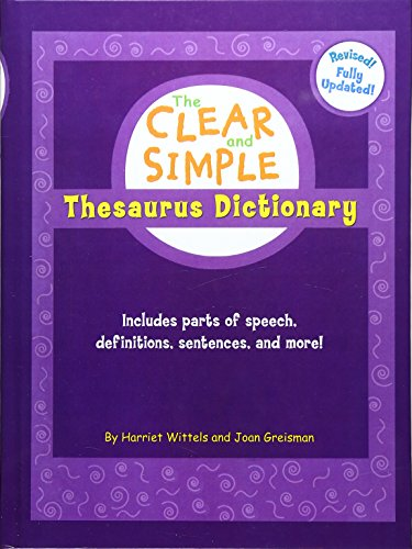 9780756967703: Clear and Simple Thesaurus Dictionary
