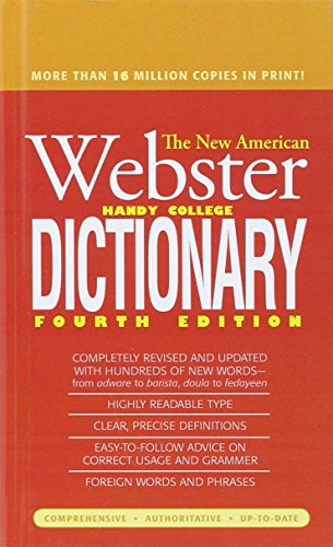 9780756972271: The New American Webster Handy College Dictionary, Fourth Edition
