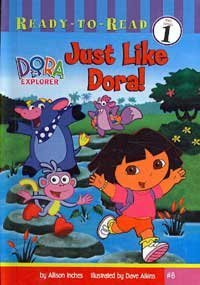 9780756976286: Just Like Dora! (Ready to Read Level Pre1)