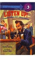 9780756979416: Listen Up! Alexander Graham Bell's Talking Machine (Step Into Reading - Level 3)