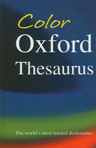 9780756984847: Color Oxford Thesaurus