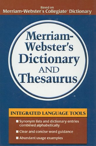 9780756988418: Merriam-Webster's Dictionary and Thesaurus