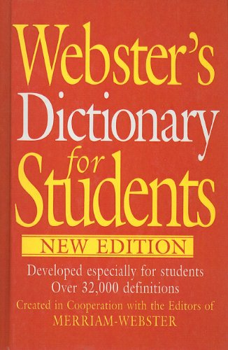 9780756992934: Webster's Dictionary for Students