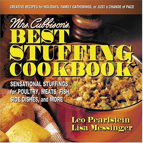 9780757002601: Mrs. Cubbison's Best Stuffing Cookbook: Sensational Stuffings for Poultry, Meats, Fish, Side Dishes, and More