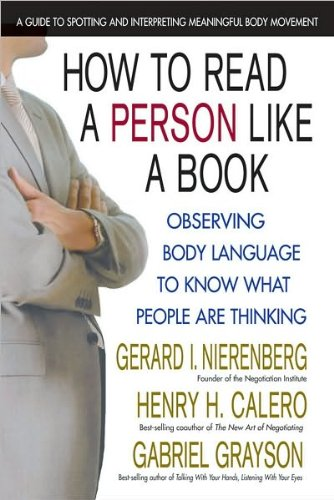 9780757003141: How to Read a Person Like a Book: Observing Body Language to Know What People Are Thinking