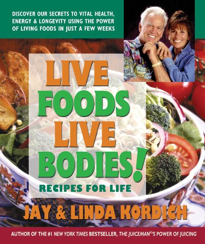 Live Foods, Live Bodies! 9780757003851 After selling close to one billion dollars in juicers and writing a number-one New York Times bestseller, Jay Kordich―known worldwide as
