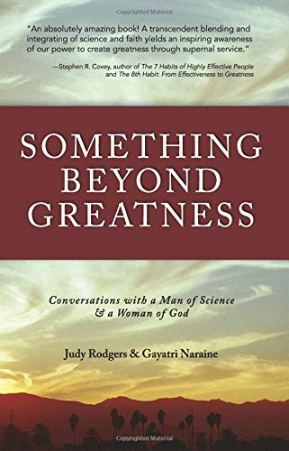 Something Beyond Greatness Conversations with a Man: Rodgers, Judy &