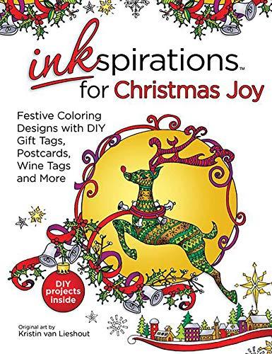 Inkspirations For Christmas Joy Festive Coloring Designs Kristin Van Lieshout