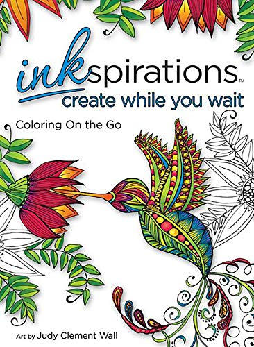 9780757319648: Inkspirations Create While You Wait: Coloring on the Go