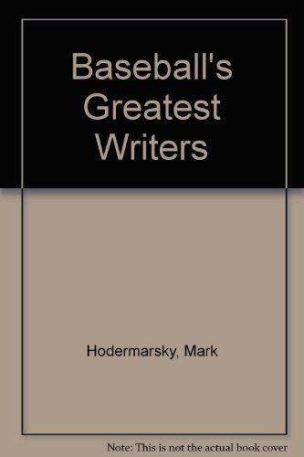 9780757503436: BASEBALL'S GREATEST WRITERS