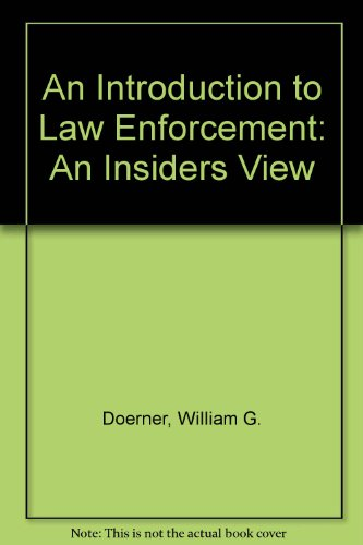 9780757508240: INTRODUCTION TO LAW ENFORCEMENT: AN INSIDER'S VIEW
