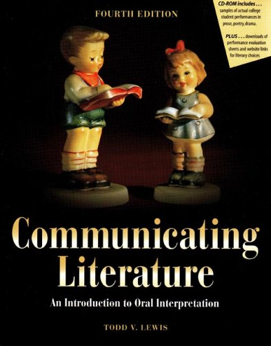 9780757508479: COMMUNICATING LITERATURE: AN INTRODUCTION TO ORAL INTERPRETATION