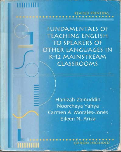 FUNDAMENTALS OF TEACHING ENGLISH TO SPEAKERS OF: ARIZA EILEEN, MORALES-JONES