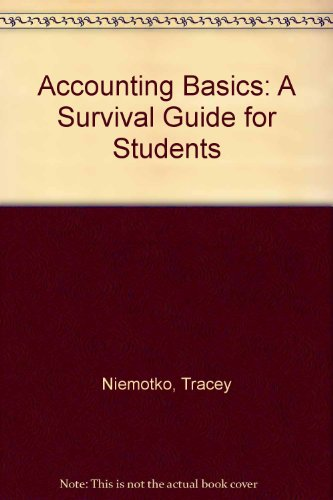 9780757508820: ACCOUNTING BASICS: A SURVIVAL GUIDE FOR STUDENTS