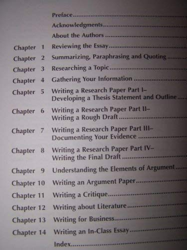 9780757509872: Research for Writers: Advanced English Composition