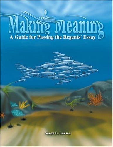 Essay guide making meaning passing regent do methods section dissertation