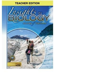 9780757511479: Insights in Biology (Journey of Discovery, Teacher's Edition)