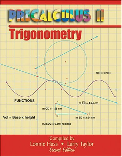 9780757512001: PRECALCULUS II: TRIGONOMETRY