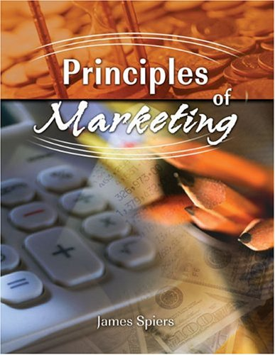 PRINCIPLES OF MARKETING: SPIERS JAMES VICTOR