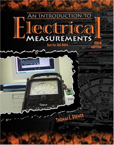 Introduction to Electrical Measurements: BREWER