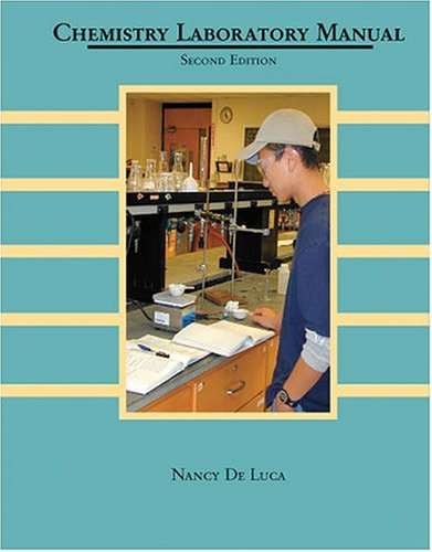 9780757513046: CHEMISTRY LABORATORY MANUAL