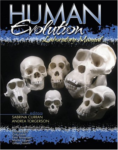 9780757513312: Human Evolution Laboratory Manual