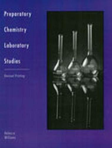 9780757514180: Preparatory Chemistry Laboratory Studies