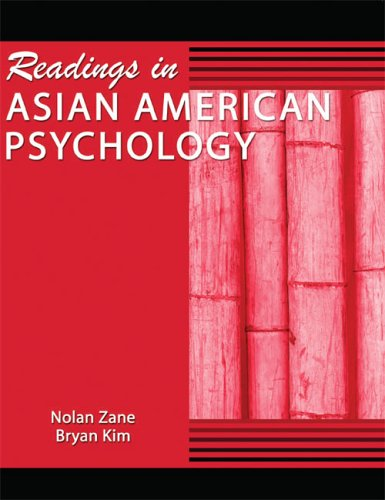 9780757516887: Readings in Asian American Psychology