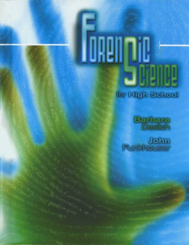 9780757518256: FORENSIC SCIENCE FOR HIGH SCHOOL STUDENT EDITION
