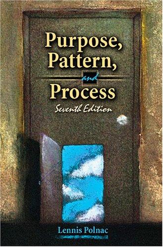 9780757520198: PURPOSE, PATTERN, AND PROCESS