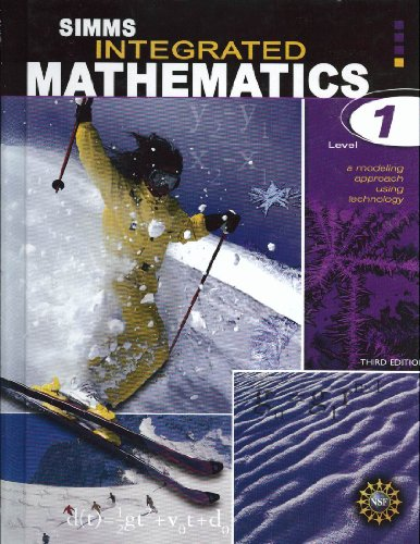 Simms Integrated Mathematics Level 1 A Modeling