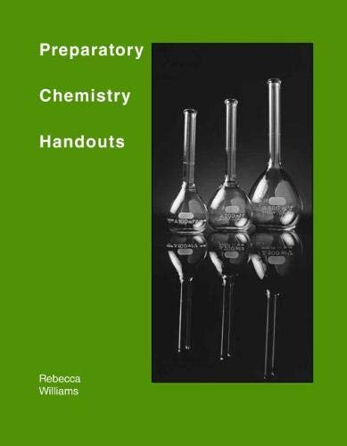 9780757520891: Preparatory Chemistry Handouts