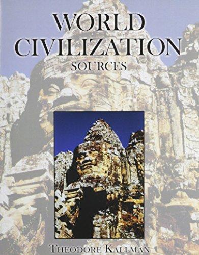 9780757521393: World Civilization Sources
