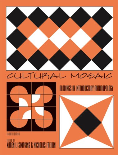 9780757523533: CULTURAL MOSAIC: READINGS IN INTRODUCTORY ANTHROPOLOGY