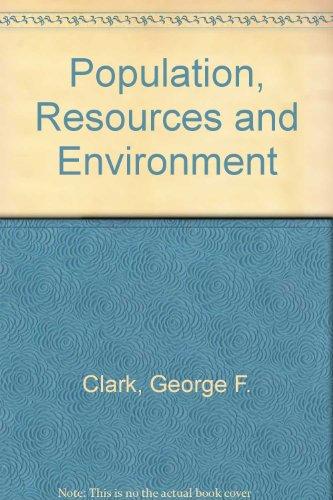 9780757524059: POPULATION, RESOURCES AND ENVIRONMENT