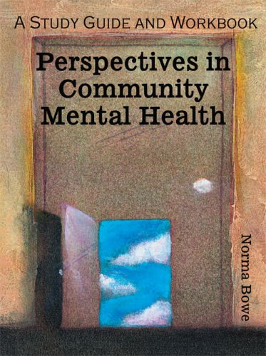 9780757524615: Community Mental Health: A Study Guide and Workbook
