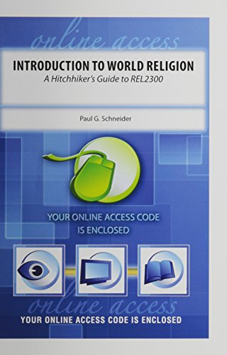 9780757527104: INTRODUCTION TO WORLD RELIGION: A HITCHHIKER'S GUIDE TO REL2300: WEBCOM