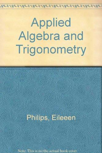 9780757531309: APPLIED ALGEBRA AND TRIGONOMETRY