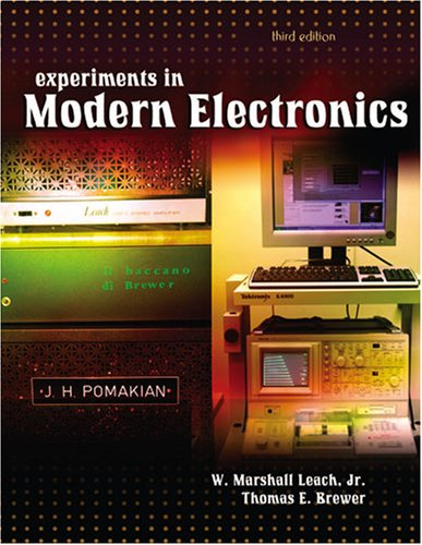 9780757531743: Experiments in Modern Electronics