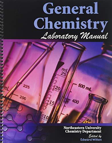 9780757532207: General Chemistry Laboratory Manual