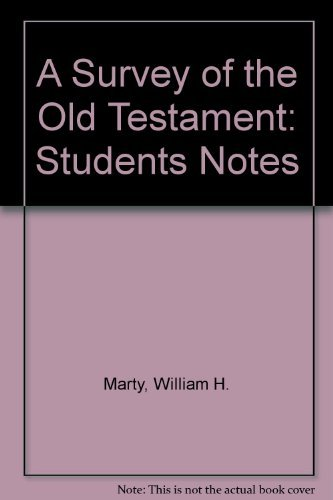 9780757533327: A Survey of the Old Testament: Student Notes