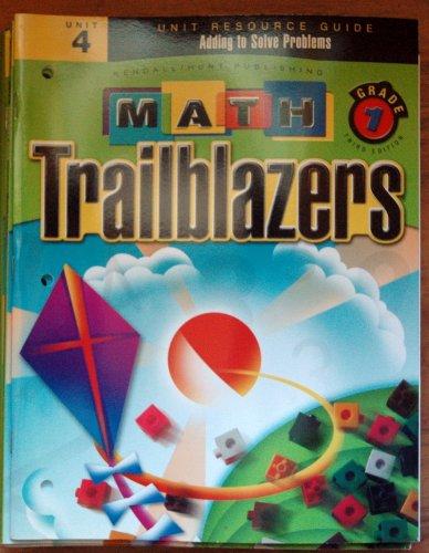 Math Trailblazers Grade 1 Unit 4: Editor-A TIMS Curriculum