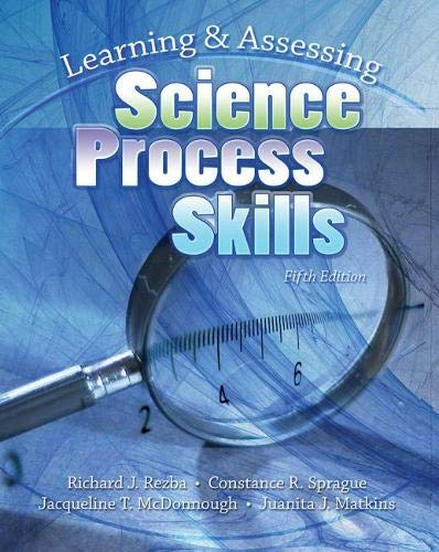 9780757537844: Learning And Assessing Science Process Skills