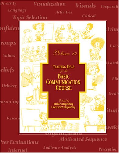 9780757538032: TEACHING IDEAS FOR THE BASIC COMMUNICATION COURSE VOL.10