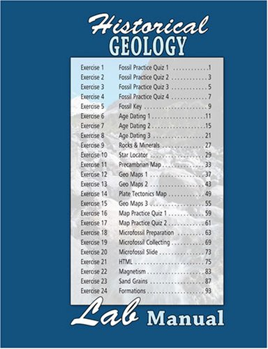 Historical Geology Lab Manual: MIMS ROBERT